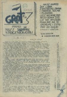 """Grot : pismo NSZZ """"Solidarność"""" Stoczniowców. 1984 nr 5"""