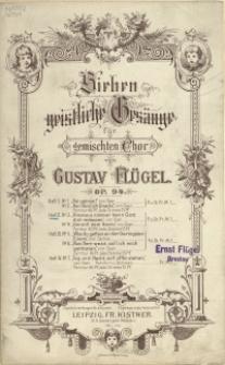 Sieben geistliche Gesänge : für gemischten Chor : Op. 94. H 2