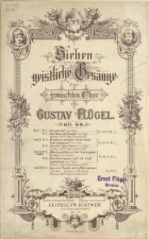 Sieben geistliche Gesänge : für gemischten Chor : Op. 94 .H 3