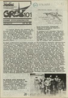 """Grot : pismo NSZZ """"Solidarność"""" Stoczniowców. 1988 nr 101"""