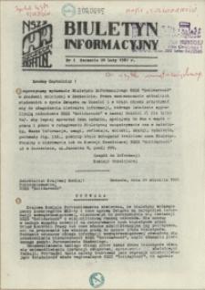 Biuletyn Informacyjny. 1981 nr 1