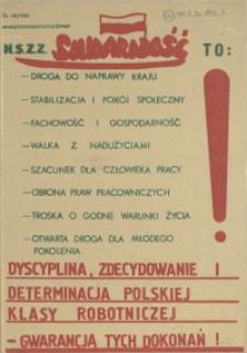 N.S.Z.Z. Solidarność to: