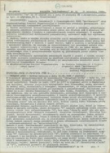 """Biuletyn """"Solidarności"""" : [Międzyzakładowy Komitet Organizacyjny NSZZ """"Solidarność"""" Regionu Pomorza Zachodniego]. 1988 nr 16"""