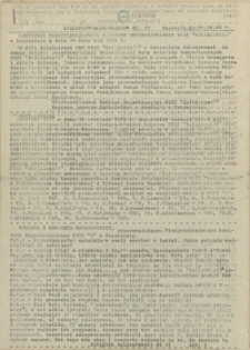 """Biuletyn """"Solidarności"""" : [Międzyzakładowy Komitet Organizacyjny NSZZ """"Solidarność"""" Regionu Pomorza Zachodniego]. 1988 nr 17"""