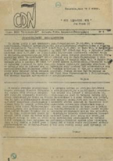 """CDN : pismo NSZZ """"Solidarność"""" Zarządu Portu Szczecin-Świnoujście. 1989 nr 6"""