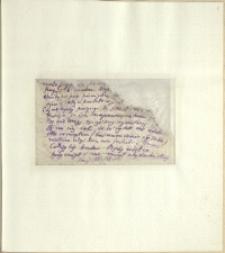 Listy Stanisława Ignacego Witkiewicza do żony Jadwigi z Unrugów Witkiewiczowej. List z końca listopada 1924