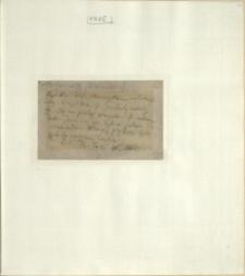 Listy Stanisława Ignacego Witkiewicza do żony Jadwigi z Unrugów Witkiewiczowej. Kartka pocztowa z 10.01.1925
