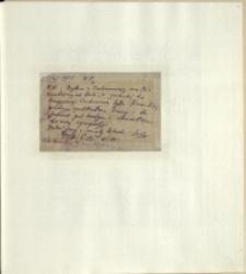 Listy Stanisława Ignacego Witkiewicza do żony Jadwigi z Unrugów Witkiewiczowej. Kartka pocztowa z 07.04.1925