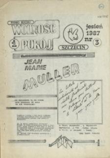 """Wolność i Pokój : pismo Ruchu """"Wolność i Pokój"""". 1987 nr 3"""