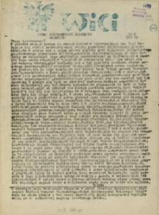 Wici : pismo Solidarności Walczącej. 1989. nr 8