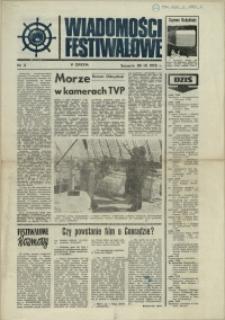 Wiadomości Festiwalowe. 1972 nr 3