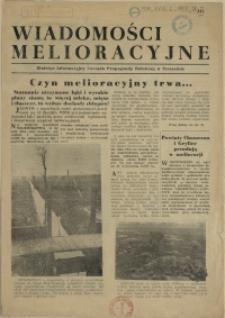 Wiadomości Melioracyjne : Biuletyn Informacyjny Zarządu Propagandy Rolniczej w Szczecinie. 1955