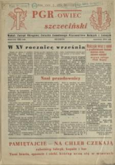 PGR-owiec szczeciński. 1954, wrzesień