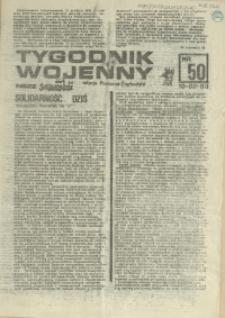 Tygodnik Wojenny : edycja Pomorze Zachodnie. 1983 nr 50