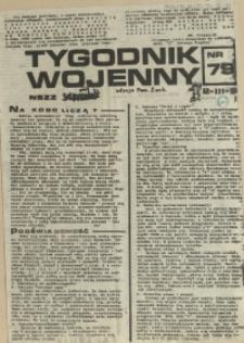 Tygodnik Wojenny : edycja Pomorze Zachodnie. 1984 nr 79