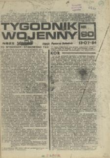 Tygodnik Wojenny : edycja Pomorze Zachodnie. 1984 nr 90