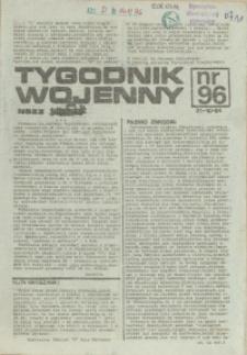 Tygodnik Wojenny : edycja Pomorze Zachodnie. 1984 nr 96