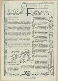 Mała Forma : Organ XVI STT. 1981, 12 kwietnia