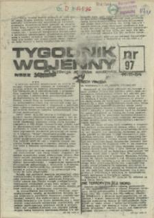 Tygodnik Wojenny : edycja Pomorze Zachodnie. 1984 nr 97