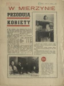 W Mierzynie Przodują Kobiety. 1956