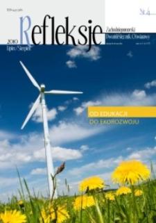 Refleksje : zachodniopomorski dwumiesięcznik oświatowy. 2010 nr 4