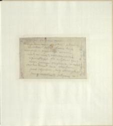 Listy Stanisława Ignacego Witkiewicza do żony Jadwigi z Unrugów Witkiewiczowej. List z 22.07.1925
