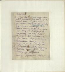 Listy Stanisława Ignacego Witkiewicza do żony Jadwigi z Unrugów Witkiewiczowej. List z 25.07.1925