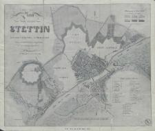 Plan der Stadt Stettin mit der næchsten Umgegend