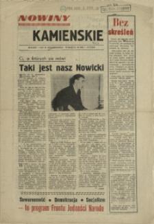 Nowiny Kamienskie[!]. 1957, styczeń