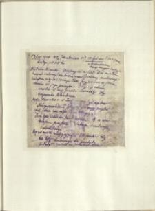 Listy Stanisława Ignacego Witkiewicza do żony Jadwigi z Unrugów Witkiewiczowej. List z 19.04.1926