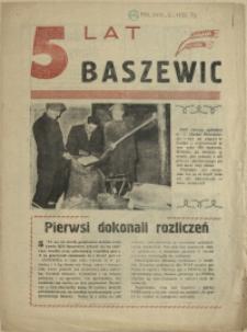 5 lat Baszewic. [1956]