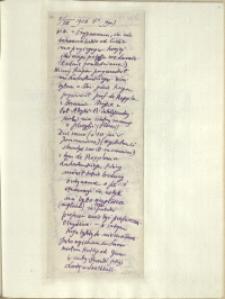 Listy Stanisława Ignacego Witkiewicza do żony Jadwigi z Unrugów Witkiewiczowej. List z 02.08.1926