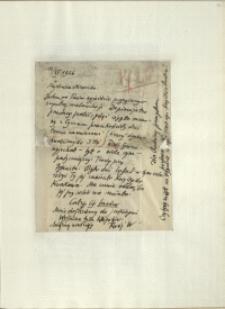 Listy Stanisława Ignacego Witkiewicza do żony Jadwigi z Unrugów Witkiewiczowej. List z 11.11.1926. List z 12.11.1926