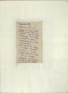 Listy Stanisława Ignacego Witkiewicza do żony Jadwigi z Unrugów Witkiewiczowej. List z 22.11.1926