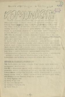 Komunikat Ośrodka Informacji NZS Szczecin. 1981 nr 8