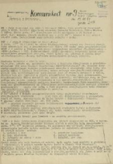Komunikat Ośrodka Informacji NZS Szczecin. 1981 nr 9