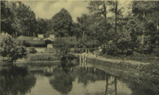 Buchheide, Pulvermühle mit Teich