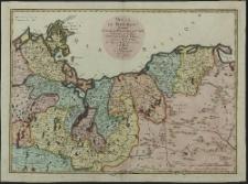 Duché de Pomeranie contenant les Duches de Stettin, de Wolgast, de Bardt, de Cassubie, de Vandalie, la Principauté et Isle de Rugen, le Comté de Gutzkow les Seigneuries de Louwenbroch et de Butow