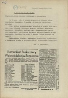 "Komunikat Międzyzakładowej Komisji NSZZ ""Solidarność"". 1980 nr 14"