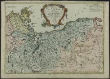 Duché de Pomeranie contenant les Duches de Stettin, de Wolgast, de Bardt, de Cassubie, de Vandalie, la Principauté et sle de Rugen, le Comté de Gutzkow les Seigneuries de Louwenbroch et de Butow