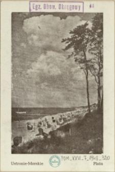 Ustronie-Morskie : Plaża