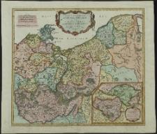 Partie Setentrionale du Cercle de Hauxe Saxe qui contient le Duché de Poméranie et le Marquisat de Brandebourg