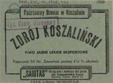 [Etykieta] Zdrój Koszaliński