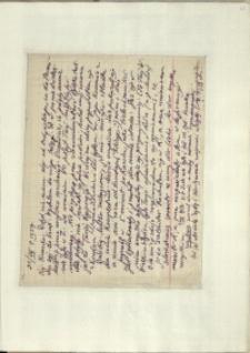 Listy Stanisława Ignacego Witkiewicza do żony Jadwigi z Unrugów Witkiewiczowej. List z 31.08.1927