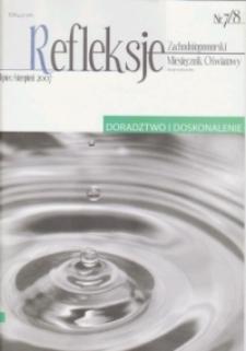 Refleksje : zachodniopomorski miesięcznik oświatowy. 2007 nr7