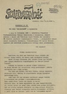"Komunikat Międzyzakładowej Komisji NSZZ ""Solidarność"". 1980 nr 18"