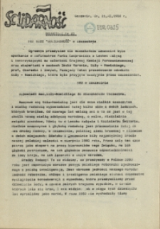 "Komunikat Międzyzakładowej Komisji NSZZ ""Solidarność"". 1980 nr 23"