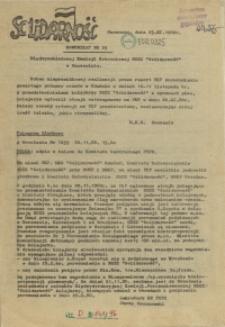 "Komunikat Międzyzakładowej Komisji NSZZ ""Solidarność"". 1980 nr 25"