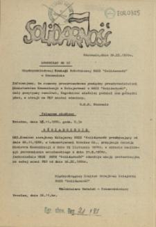 "Komunikat Międzyzakładowej Komisji NSZZ ""Solidarność"". 1980 nr 26"