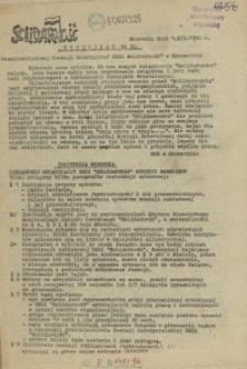 "Komunikat Międzyzakładowej Komisji NSZZ ""Solidarność"". 1980 nr 30"